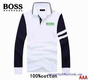 21e79569c2a nouvelle collection t shirt manche longue hugo boss