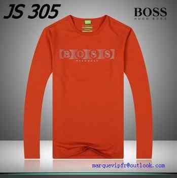 66e0b36b82475 collection t shirt manche longue hugo boss homme