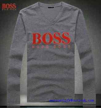8f25fe40da9e4 nouvelle collection t shirt manche longue hugo boss