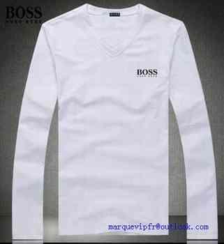 b6a59c85605 paris t shirt manche longue hugo boss homme