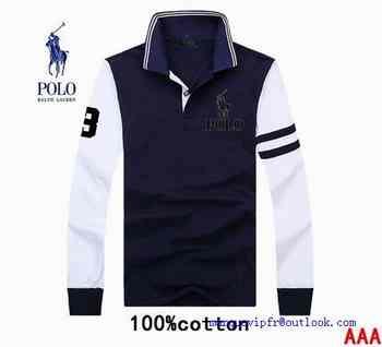 Shirt T Manche Polo vintage Longue Ralph Vintage Lauren m8nwv0ON