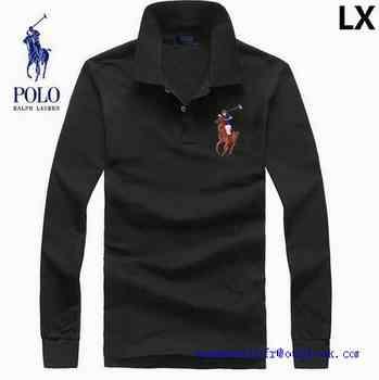 Polo Longue Manche Ralph Personnaliser Shirt fr Lauren T c3TFJ1lKu5