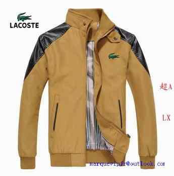 Homme Chine Destock Lacoste classic Veste Xn0P8wOk